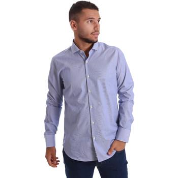 Textil Homem Camisas mangas comprida Gmf 971263/01 Azul