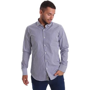 Textil Homem Camisas mangas comprida Gmf 971264/03 Azul