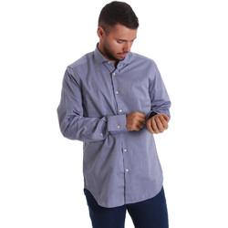 Textil Homem Camisas mangas comprida Gmf 971134/05 Azul