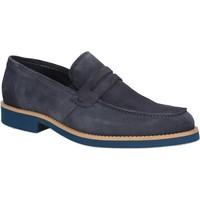 Sapatos Homem Mocassins Rogers 1008B Azul
