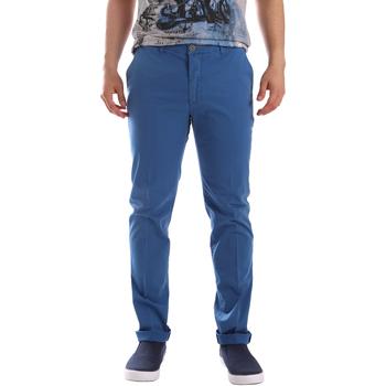 Textil Homem Chinos Sei3sei PZVI69 7148 Azul