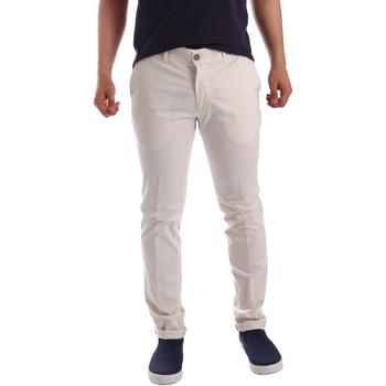 Textil Homem Chinos Sei3sei PZV21 7148 Branco