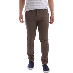 Textil Homem Chinos Sei3sei PZV89 7147 Castanho