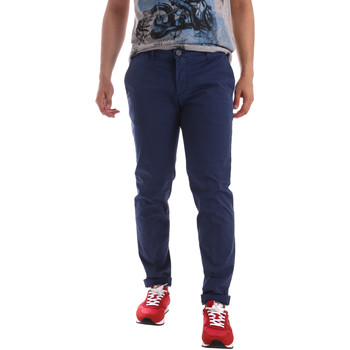 Textil Homem Chinos Sei3sei PZV89 71336 Azul