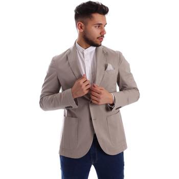 Textil Homem Casacos/Blazers Sei3sei PZG8 7149 Cinzento