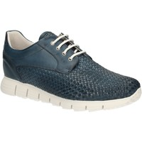 Sapatos Homem Sapatilhas Exton 338 Azul