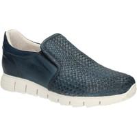 Sapatos Homem Mocassins Exton 339 Azul