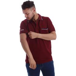 Textil Homem Polos mangas curta Key Up 2827Q 0001 Vermelho