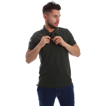 Textil Homem Polos mangas curta Key Up 255QG 0001 Verde