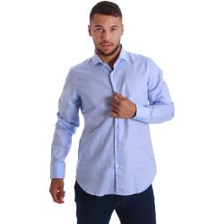 Textil Homem Camisas mangas comprida Gmf 971103/03 Azul