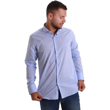 Textil Homem Camisas mangas comprida Gmf 971101/03 Azul