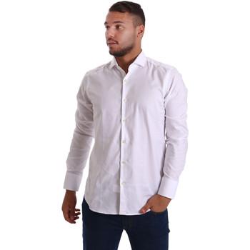 Textil Homem Camisas mangas comprida Gmf 971103/01 Branco