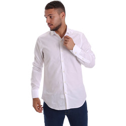 Textil Homem Camisas mangas comprida Gmf 971111/11 Branco