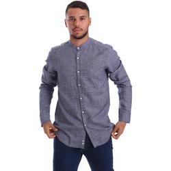 Textil Homem Camisas mangas comprida Gmf 971139/13 Azul