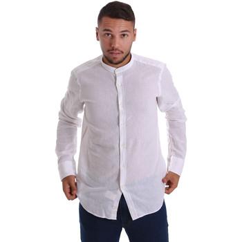 Textil Homem Camisas mangas comprida Gmf 971306/01 Branco