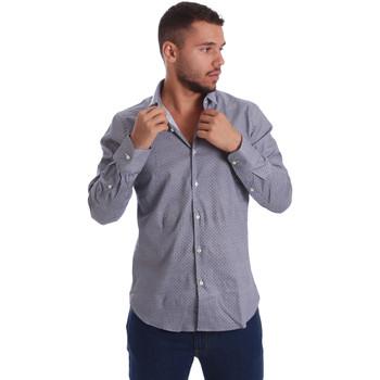 Textil Homem Camisas mangas comprida Gmf 971185/03 Preto
