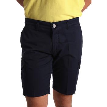 Textil Homem Shorts / Bermudas Sei3sei PZV130 7148 Azul