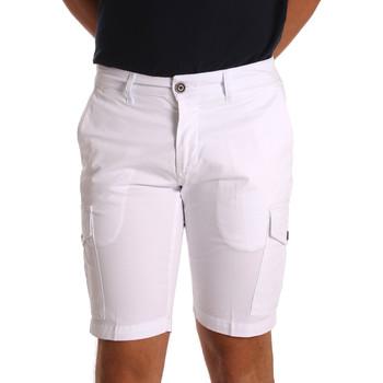 Textil Homem Shorts / Bermudas Sei3sei PZV130 7148 Branco