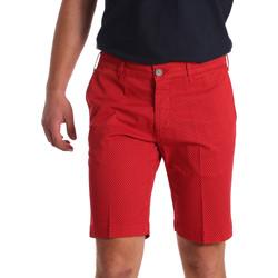 Textil Homem Shorts / Bermudas Sei3sei PZV132 71336 Vermelho