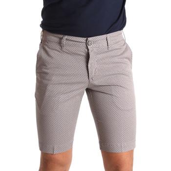 Textil Homem Shorts / Bermudas Sei3sei PZV132 71336 Castanho