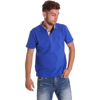 Textil Homem Polos mangas curta Bradano 000116 Azul