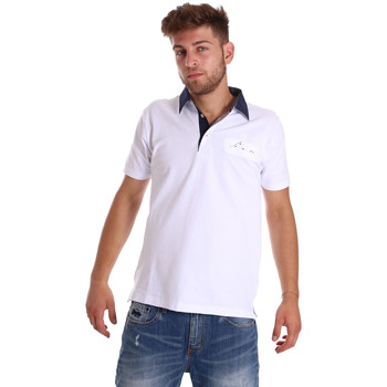 Textil Homem Polos mangas curta Bradano 000115 Branco
