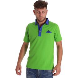 Textil Homem Polos mangas curta Bradano 000114 Verde