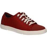 Sapatos Homem Sapatilhas Clarks 124230 Vermelho