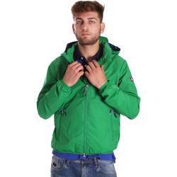 Textil Homem Corta vento U.S Polo Assn. 38275 43429 Verde