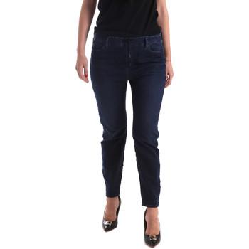 Textil Mulher Calças de ganga slim Gas 365759 Azul