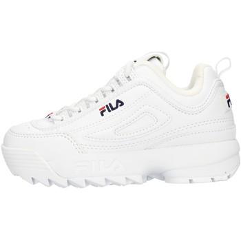 Sapatos Criança Sapatilhas Fila FW02945SN Branco
