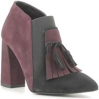 Sapatos Mulher Botas baixas Café Noir NMA543 Preto