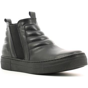 Sapatos Mulher Sapatilhas de cano-alto Café Noir XV101 Preto