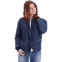 Textil Mulher Jaquetas Gas 255425 Azul