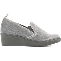 Sapatos Mulher Mocassins Grunland SC2056 Cinzento