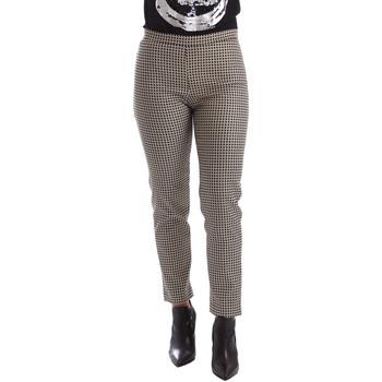 Textil Mulher Chinos Gaudi 64FD20235 Preto