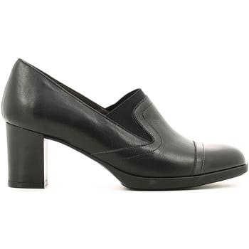 Sapatos Mulher Mocassins Melluso X5602 Preto