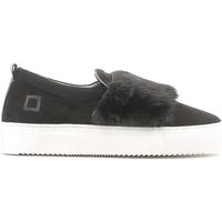 Sapatos Mulher Slip on Date A251-SL-FU-BK Preto