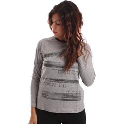Textil Mulher camisolas Key Up SGV9 0001 Cinzento