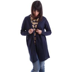 Textil Mulher Casacos de malha Gazel AB.MA.CA.0055 Azul