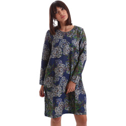 Textil Mulher Vestidos curtos Gazel AB.AB.ML.0026 Azul