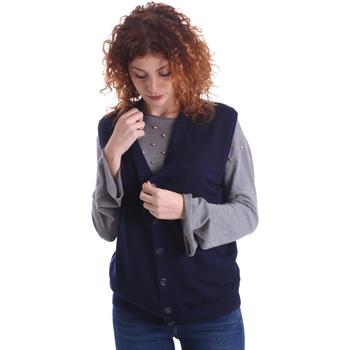 Textil Mulher Casacos de malha Wool&co WO0004 Azul