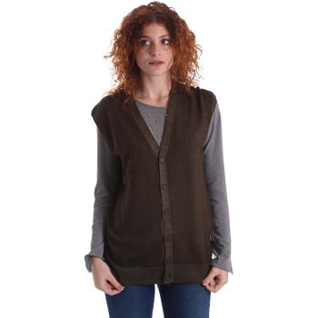 Textil Mulher Casacos de malha Wool&co WO0004 Verde