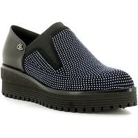 Sapatos Mulher Slip on Byblos Blu 6670Q6 Preto
