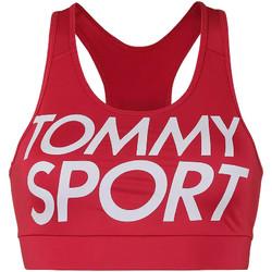 Textil Mulher Tops e soutiens de desporto Tommy Hilfiger S10S100070 Vermelho