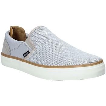 Sapatos Homem Slip on Wrangler WM91122A Cinzento