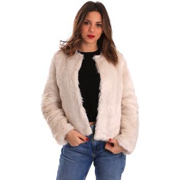 Textil Mulher Casacos Gaudi 821BD39002 Bege