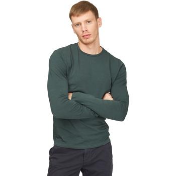 Textil Homem T-shirt mangas compridas Gas 300187 Verde