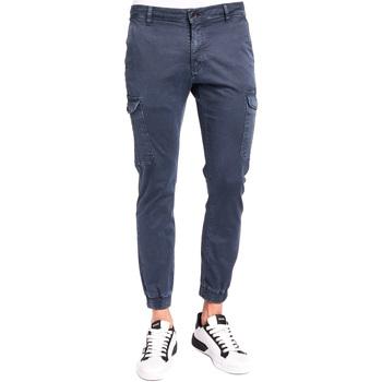 Textil Homem Calça com bolsos Gaudi 921BU25011 Azul