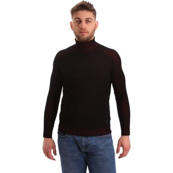 Textil Homem camisolas Gaudi 821BU53034 Preto